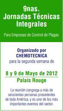 novenas jornadas t cnicas para empresas de control de plagas